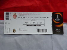 Place Europa League asm AS MONACO FC Tottenham Hotspur ticket 01 10 2015