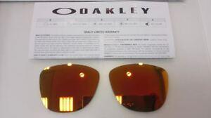 LENTES REMPLAZO OAKLEY FROGSKINS 9013 FIRE IRIDIUM REPLACEMENT LENSES LENS 9245