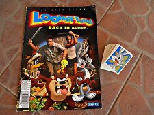 LOONEY TUNES BACK IN ACTION - LUXOR - EMPTY ALBUM + COMPLETE SET OF THE STICKERS