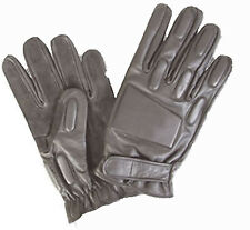 Leather Padded Security Gloves Military Police - Viper Tactical Gloves