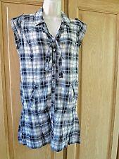 NEUVE robe/tunique BERSHKA carreaux L 38/40