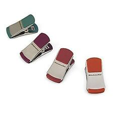 KitchenAid Gourmet Set of 4 Small Bag Clips Assorted