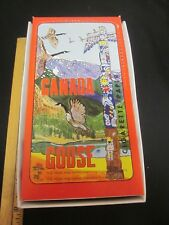 Excellent Vtg NOS CANADA GOOSE Head Shop Cannabis CIGARETTE Rolling PAPER Box