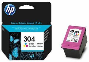 Genuine colour HP 304 Ink Cartridge N9K05AE