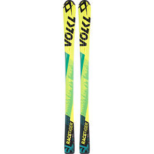 2016 Volkl Racetiger JR Yellow 120cm Junior Skis w/ 3Motion 4.5 Ski Bindings