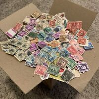 UNITED STATES STAMPS BOX LOT OFF PAPER. GREAT GIFT IDEA FOR FATHER'S DAY