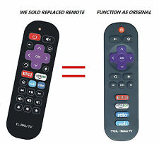 New Remote Replaced fit for TCL ROKU LED TV 32S3850 55FS3700 48FS4610R 40FS3850