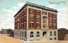 A11/ Bristol Tennessee Tn Postcard c1910 New YMCA Building