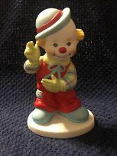 Vintage 1984 Clown Arounds Derby Porcelain Figurine Marilyn Conkin