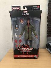 """Marvel Legends Spider-Man 6"""" Peter B. Parker BAF Stilt-Man - IN HAND Figure"""