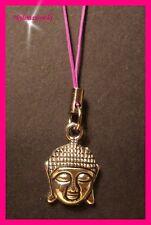 Buddhakopf Handyanhänger Schlüsselanhänger Taschenanhänger NEU      (c121)
