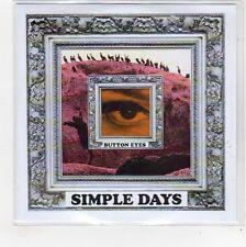 (FE4) Button Eyes, Simple Days - 2013 DJ CD