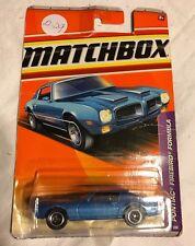 Matchbox 2010 Blue Pontiac Firebird Formula - A29