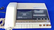 Vintage Unisonic Telephone Alarm Clock Radio AM/FM Cassette- NICE!