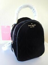 New Kate Spade Briar Lane Quilted Velvet Mini Convertible Backpack, Purse