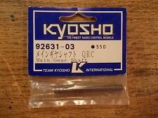 92631-03 Main Gear Shaft QRC Kyosho Field Baja Dodge Ram Mooneyes Van Snake Bite