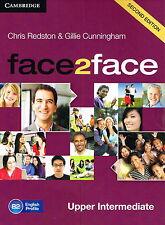 CAMBRIDGE Face2face Upper Intermediate SECOND EDITION Class Audio CDs (3) @NEW@