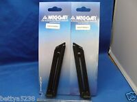 TWO Mec-Gar Magazine Mag for Ruger Mark II MKII MK 2 10 Rounds .22LR 22 LR CLIP
