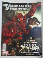 SDCC San Diego Comic Con 2011 MARVEL Avenging Spider Man #1 Poster  w RED HULK