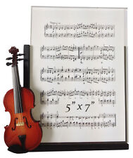 "Violin Musical Instrument Picture Frame 5"" x 7"""