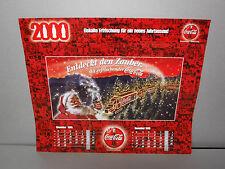 Coca Cola Kalender 2000 NEU Sammlungsauflösung