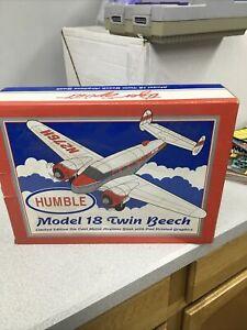 Liberty Spec Cast Humble Oil MODEL 18 Twin Beech Die-Cast Bank #48504