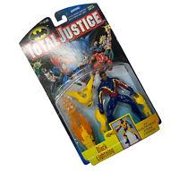 Total Justice Black Lightning Figure 1997 Kenner MOC Vintage DC Comics Batman