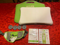 Nintendo Wii Fit Balance Board Bundle With Wii Fit Games Tested and Working