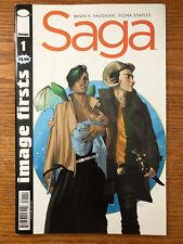 Saga #1 Image Firsts Variant Comics 2012 VF/NM Brian K Vaughan Fiona Staples