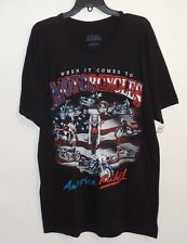 When It Comes to Motorcycles America Rules  T Shirt Men's Size Medium