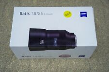 ZEISS 85mm F1.8 Lens E-mount for Sony