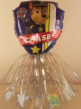 5 Paw Patrol Table CenterPieces Birthday Foil Balloons Decorations Favors Prizes