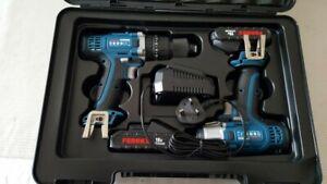 Ferrex Drill Driver Kit 18 V