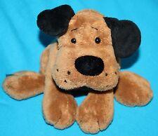 "Ganz HAPPY HOUNDS DOG 5"" Bean Bag Dark Brown Stuffed Animal Plush Soft Toy H9819"