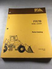 Fiat Allis Fr7b Wheel Loader Parts Catalog
