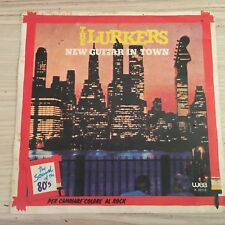 """The Lurkers – New Guitar In Town 45 Giri 7"""" Vinile ITA 1980 New Wave, Punk"""