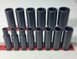 """Wright Tool #4912-4940 Extended Length Impact Socket 1/2"""" Drive 6pt"""