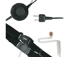 Arc T25001 Neck Strap Throat Microphone for Icom 2-Pin Top Connector Radios