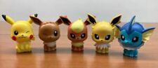 Bandai Pokemon Figure Capchara Gashapon 4 Pikachu Eevee Vaporeon Jolteon 5 pcs