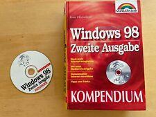 BUCH MARKT UND TECHNIK WINDOWS 98 KOMPENDIUM mit CD