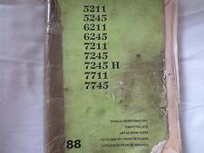 Zetor Katalog Ersatzteilliste für den 5211 - 7745 Original Gebrauchsspuren