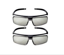 Set of 2 Sony Passive 3-D Glasses X25888861 TDG-500P New & Sealed Pair 3D Pack