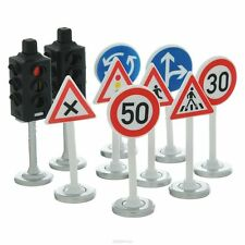 SIKU ACCESSORI SEGNALI STRADALI SEMAFORI TRAFFIC LIGHTS AND ROAD SIGNS  ART 5597