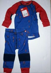 Helly Hansen Kids & Baby HH LIFA Merino Wool Baselayer Set. Choose Size/Color