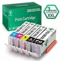 PGI-280 XXL CLI-281 XXL Ink For Canon PIXMA TS9120 TR7520 TR8520 TS6120 TS6220