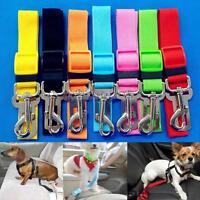 Car Vehicle Safe Seat Belt Restraint Harness Leash Travel Clip for Pet Cat Dog #