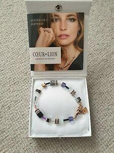 Coeur De Lion Bracelet GeoCUBE® Swarovski® Crystals & Gemstones