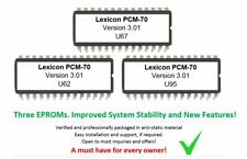 Lexicon PCM70 Version 3.01 Eprom Firmware Upgrade Effect Reverb For PCM-70