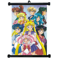 Sailor Moon Japan Anime Home Décor Wall Scroll Poster 40*60cm