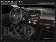 Dash Trim Kit for MITSUBISHI MIRAGE 14 15 16 17 carbon fiber wood aluminum